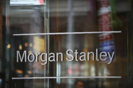 La banque d'affaires américaine Morgan Stanley (MS)a renoué... (Photo: Associated Press)