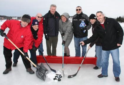 Place 224 un 171 gros party de hockey 187 simon olivier lorange