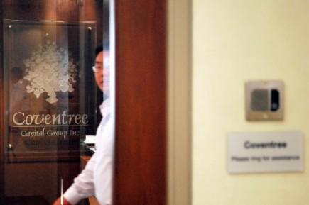 Les dirigeants de la firme Coventree, de Toronto, qui fut le principal... (Photo: Bloomberg)