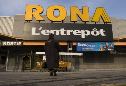 L'action de Rona a entamé la séance d'hier... (Photo: Ivanoh Demers, La Presse)