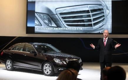 Mercedes-Benz est à couteaux tirés avec Audi pour... (Photo: Agence France-Presse)