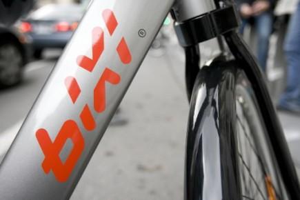 Le BIXI, le système de vélo en libre-service montréalais, célèbre un nouveau... (Photo: La Presse)