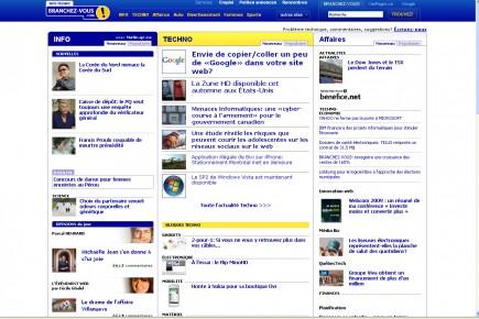 Le géant des communications Rogers(T.RCI.B)a annoncé... (Capture d'écran du site branchez-vous)