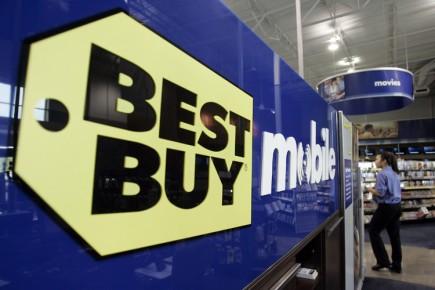 Le titre du spécialiste de l'électronique Best Buy chute de plus de 14% après... (Photo: AP)