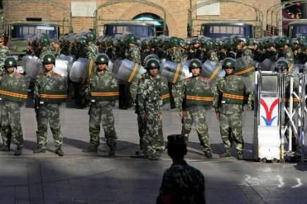 Les violences au Xinjiang, région chinoise à majorité musulmane, ont braqué les... (Photo: Reuters)