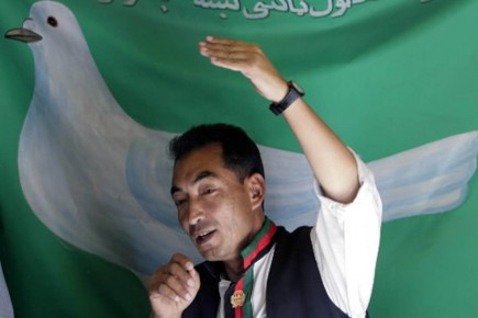 Ramazan Bashardost aura marqué la campagne présidentielle afghane... (Photo AP)