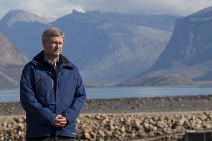 Le premier ministre du Canada, Stephen Harper, qui... (Photo: PC)