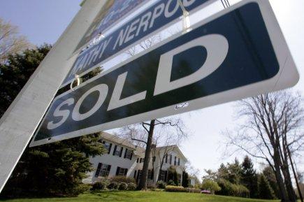 Une maison à vendre aux États-Unis.... (Photo Amy Sancetta, Archives Associated Press)