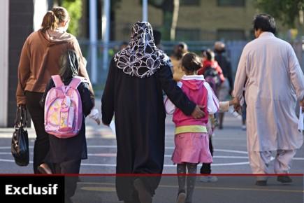 Ces enfants fréquentent l'école de la Petite-Bourgogne, où... (Photo: François Roy, La Presse)