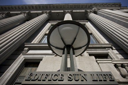L'édifice Sun Life.... (Photo: David Boily, La Presse)