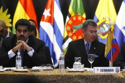 Le ministre des Affaires étrangères vénézuélien Nicolas Maduro... (Photo: Reuters)