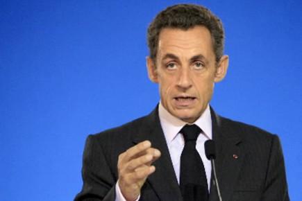 Nicolas Sarkozy vient d'annoncer l'entrée en vigueur, dès... (Photo AFP)