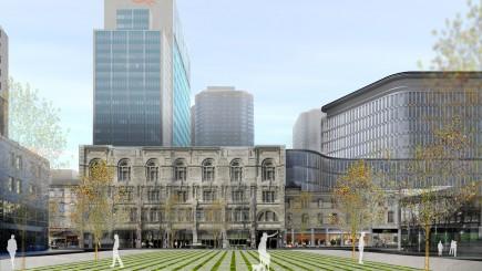 Le projet du Quadrilatère Saint-Laurent a été approuvé... (Photo fournie par la Société de développement Angus)