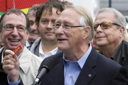 S'il est réélu maire de Montréal, Gérald Tremblay veut encourager... (Photo: Robert Skinner, La Presse)