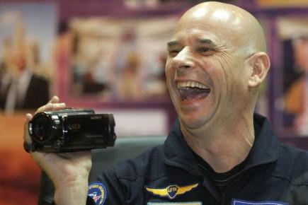 Guy  Laliberté s'envolera vers la Station spatiale... (Photo: AP)