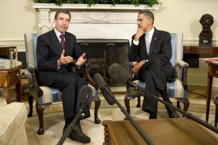 Barack Obama a rencontré le secrétaire général de... (Photo: Reuters)