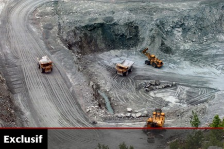 La mine Lac d'Amiante à Thetford Mines.... (Photo: La Tribune)