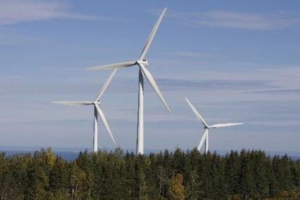 L'entreprise française EDF Energies Nouvelles, filiale d'énergies renouvelables... (Photo: André Pichette, La Presse)