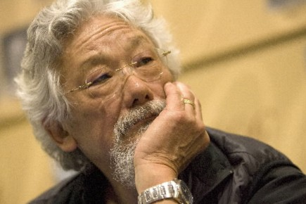 David Suzuki a été récompensé pour son «engagement... (Photo archives La Presse)