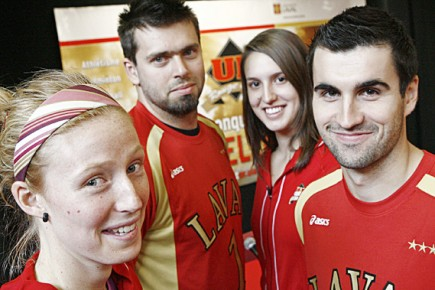 Volleyball le rouge et or en app tit carl tardif for Assurance ssq maison