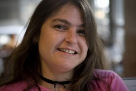 Sophie  Gravel, une jeune femme tellement convaincue... (Photo: André Pichette, La Presse)