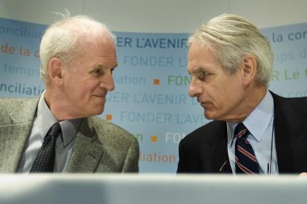 Charles Taylor et Gérard Bouchard ont présidé la... (Photo: Ivanoh Demers, Archives La Presse)