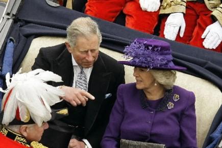 Le prince Charles et son épouse Camilla Parker-Bowles entameront lundi une... (Photo: Reuters)