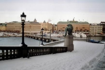 La ville de Stockholm... (Photo: Archives La Presse)