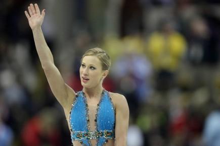 Joannie Rochette a poursuivi ce week-end à Skate Canada sa progression vers une... (Photo: AFP)