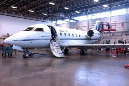 L'aéronautique constitue désormais le joyau québécois de l'économie... (Photo Érick Labbé, Archives Le Soleil)