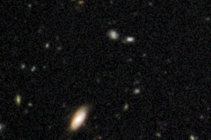 Hubble a croqué une photo de l'univers à son enfance