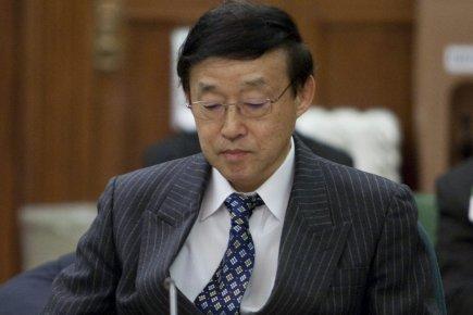 Le PDG de Toyota Canada, Yoichu Tomihara....
