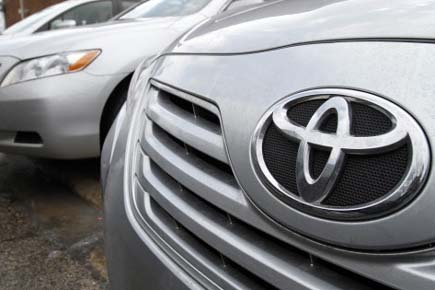 Une voiture Toyota.... (Photo: AP)