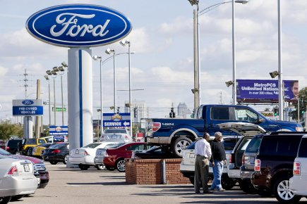 Ford applique sa garantie américaine sans restriction au... (Photo Bloomberg News)