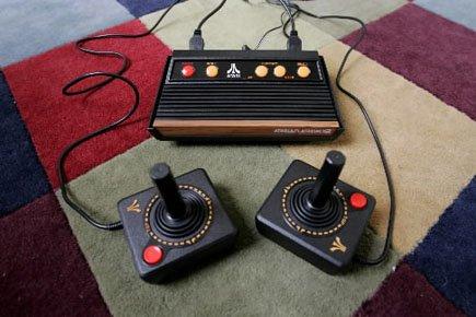 La classique console Atari 2600produite entre1977et1991.... (Photo: Paul Sakuma, AP)