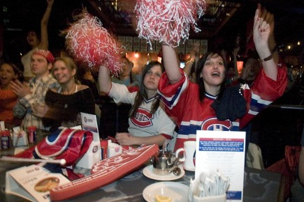 L'ambiance endiablée lors des matchs du Canadien n'atteint... (Photo François Roy, archives La Presse)