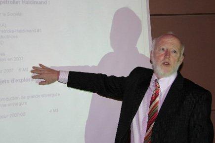 Devant les actionnaires réunis en assemblée générale ce... (Photo d'archives Le Soleil)