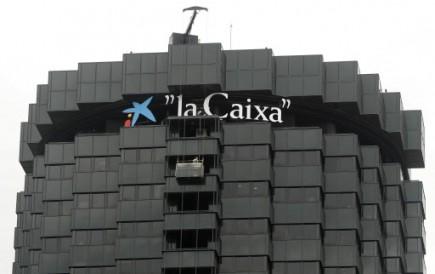 Le siège social de la banque espagnole La... (Photo Reuters)