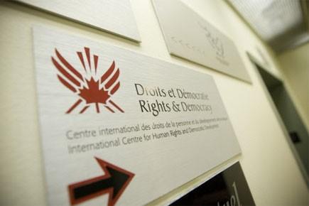 Depuis le début de l'année, Droits et Démocratie... (Photo: Ivanoh Demers, Archives La Presse)
