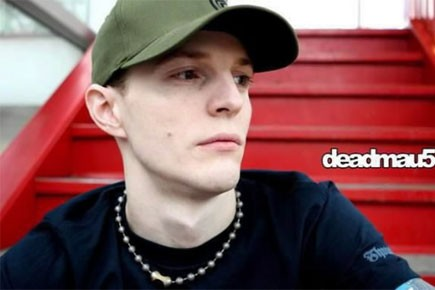 Le DJ torontois Deadmau5... (Photo: PC)