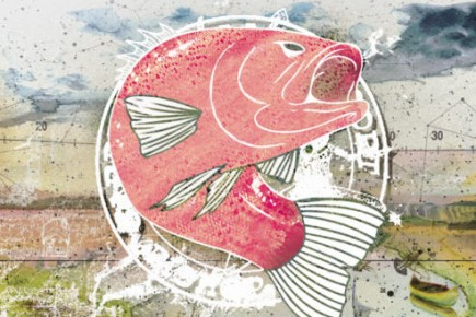 Avec une ligne à pêche, si tu savais comment on ne s'ennuie pas, à la... (Illustration Anik Poliquin, La Presse)