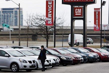 «Il est maintenant clair que les ventes automobiles... (Photo: PC)