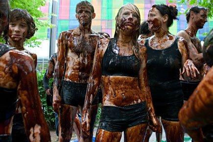 Une dizaine de militants de Greenpeace ont participe... (Photo: François Roy, La Presse)