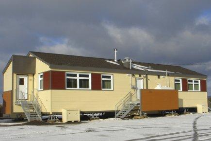 Les familles inuits vivent dans un environnement résidentiel... (PHOTO FOURNIE PAR CONSTRUCTION CEG)