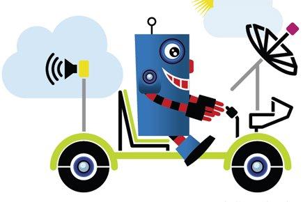 En affaires, ne pas avancer équivaut à reculer. L'innovation est la voie à... (Illustration: Philippe Tardif, La Presse)