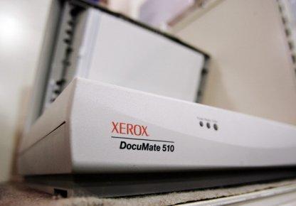 Le recul du bénéfice du fabricant américain de photocopieurs s'est accéléré au... (Photo Associated Press)