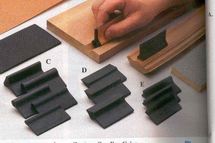 le sablage des moulures brico. Black Bedroom Furniture Sets. Home Design Ideas
