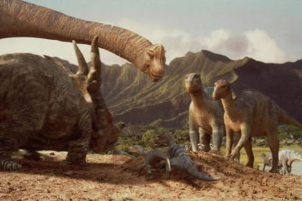 La plupart des dinosaures th ropodes taient herbivores - Liste des dinosaures carnivores ...