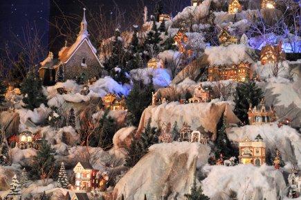 Le sanctuaire rendez vous incontournable des f tes fran ois houde arts spectacles - Fabriquer un village de noel en carton ...
