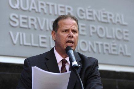 Le président de la Fraternité des policiers de... (Photo: Bernard Brault, La Presse)